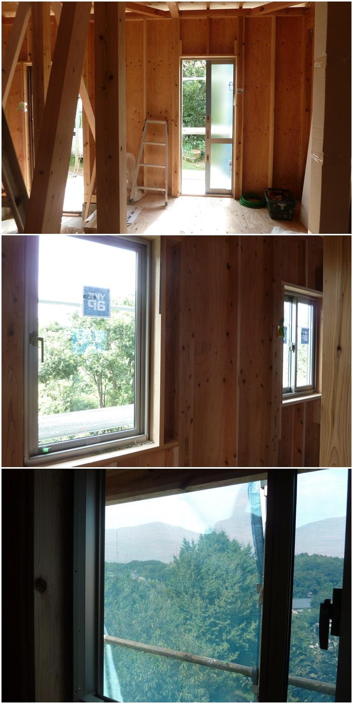 横浜市泉区新橋の家☆サッシが付きました_c0152341_024334.jpg