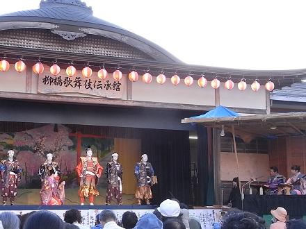 柳橋歌舞伎と秋蛍:秋のドライブ_e0197748_1624415.jpg