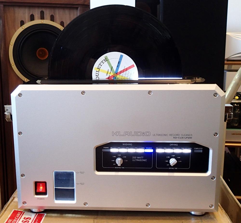 KLAUDiO CLN-LP200 超音波レコードクリーナーのデモ機を使ってみました。_b0262449_168977.jpg