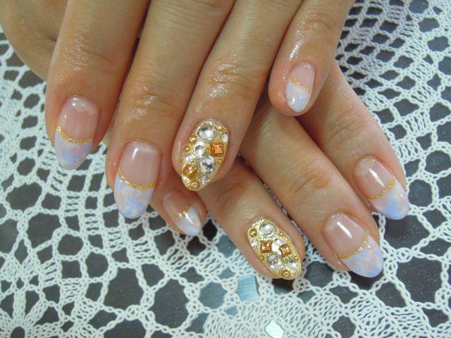 Marble Nail_a0239065_12485826.jpg
