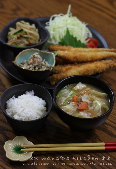おからの煮物 ☆ 柳葉魚のフライ♪_c0139375_1337509.jpg