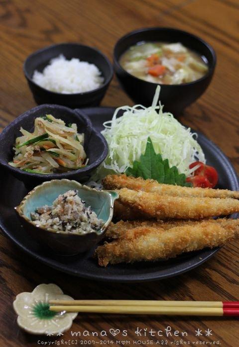 おからの煮物 ☆ 柳葉魚のフライ♪_c0139375_13385439.jpg