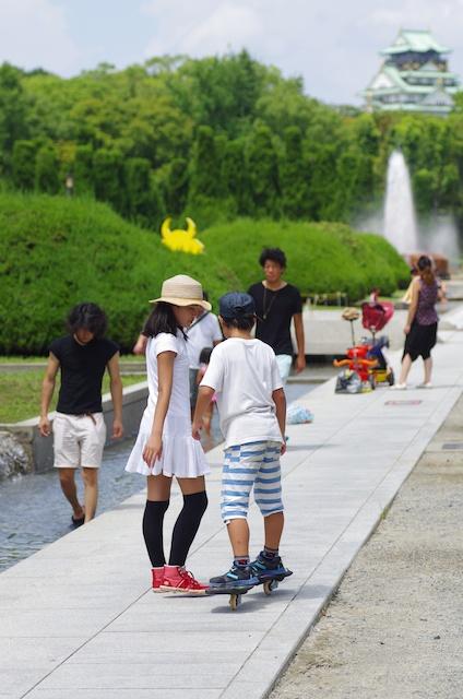 大阪城で過ごす休日_e0139376_22484824.jpg