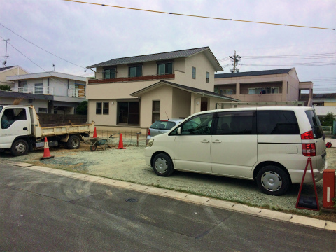 上新屋 Mさんの家 ★外構工事_d0205883_1323146.jpg