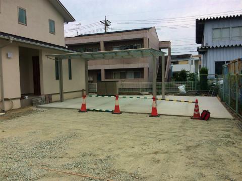上新屋 Mさんの家 ★外構工事_d0205883_1323734.jpg