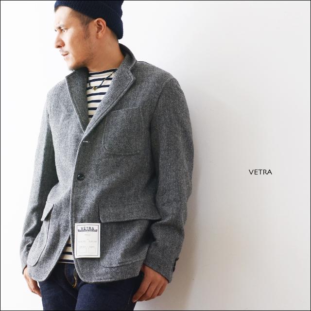 VETRA [ベトラ] WOOL HERRING BONE TAILOAD JACKET [JV-8510WHT] ウールヘリンボーンテーラードジャケット_f0051306_211382.jpg