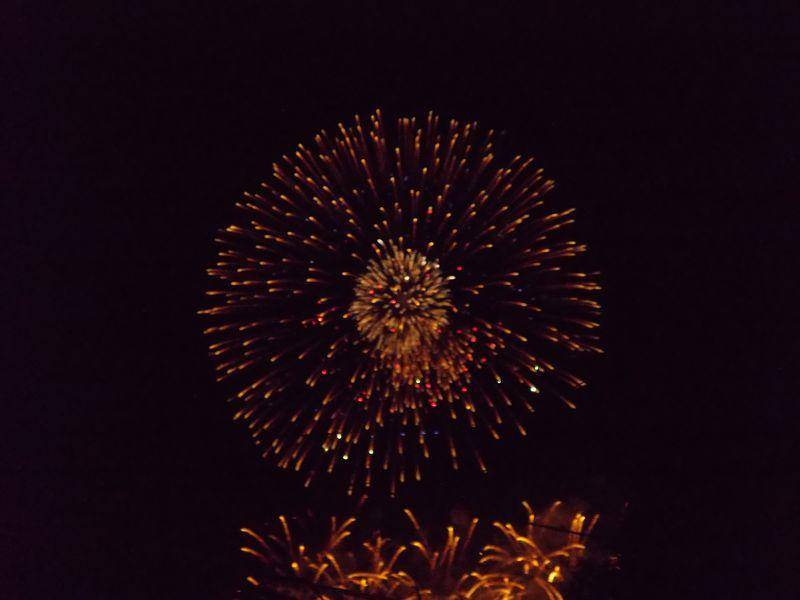 雨上がりの土曜日、夜はモエレ沼芸術花火大会2014_c0025115_21284871.jpg