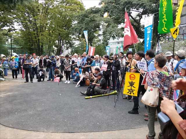 沖縄で2回目の基地反対大規模集会、東京・渋谷で連帯集会・デモ_c0024539_21535158.jpg