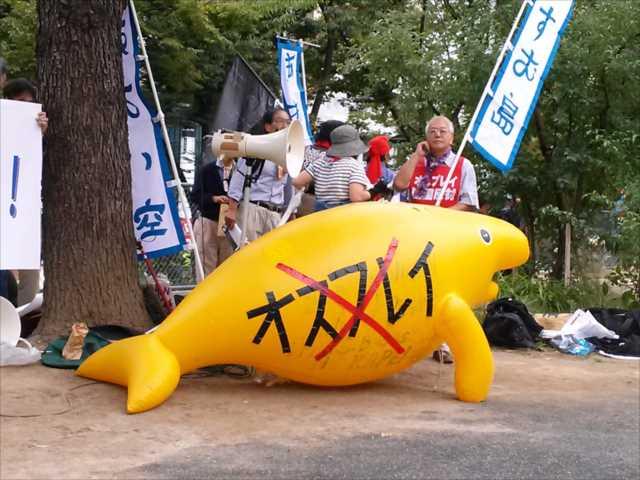 沖縄で2回目の基地反対大規模集会、東京・渋谷で連帯集会・デモ_c0024539_2154885.jpg