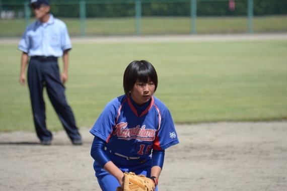 西那須野ライオンズ杯 黒田原中VS野崎中_b0249247_1649207.jpg