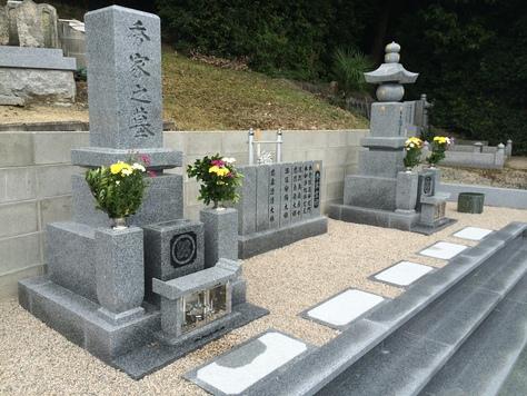 大島石 9寸石碑、五輪塔工事_c0160758_1333551.jpg