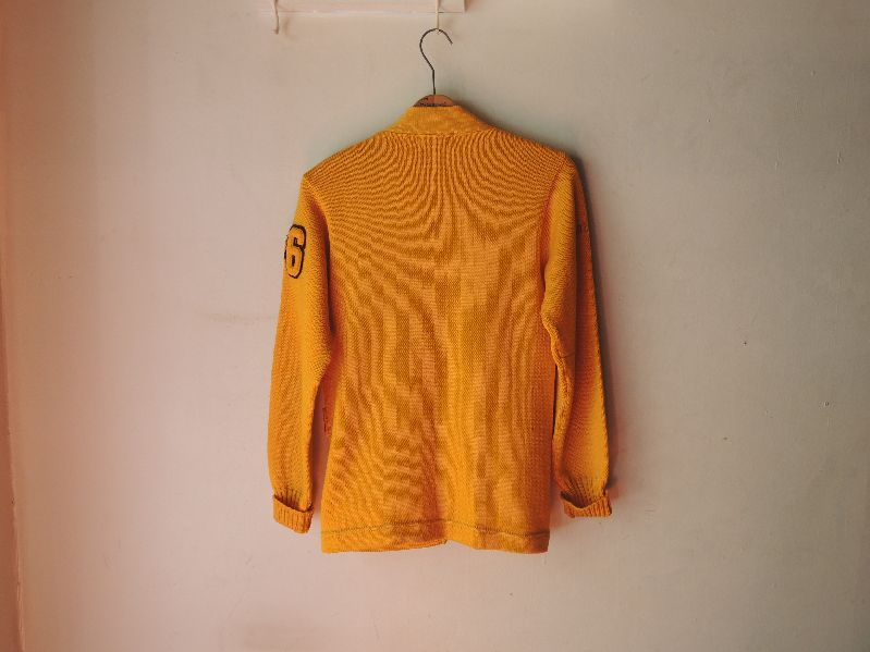 60S BUREAN HOLLOWAY LETTERED CARDIGAN--RECOMMEND--_c0176867_1341929.jpg