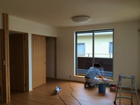 高丘西 Wさんの家 ★クリーニング工事、畳工事、給排水工事_d0205883_11111796.jpg