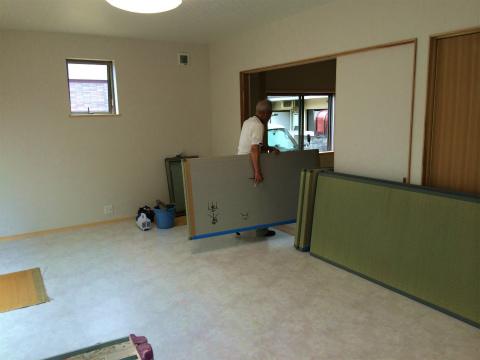 高丘西 Wさんの家 ★クリーニング工事、畳工事、給排水工事_d0205883_11112879.jpg