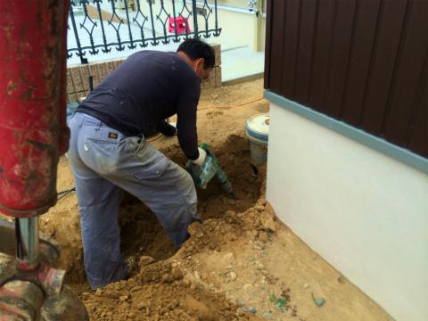 高丘西 Wさんの家 ★クリーニング工事、畳工事、給排水工事_d0205883_11114426.jpg