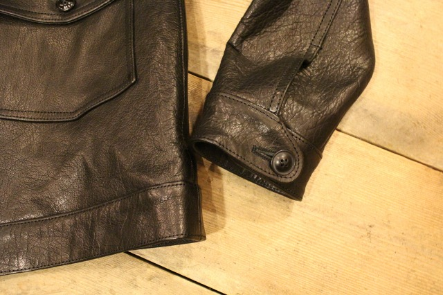 BUBALUS Leather Jacket_d0121303_23564964.jpg