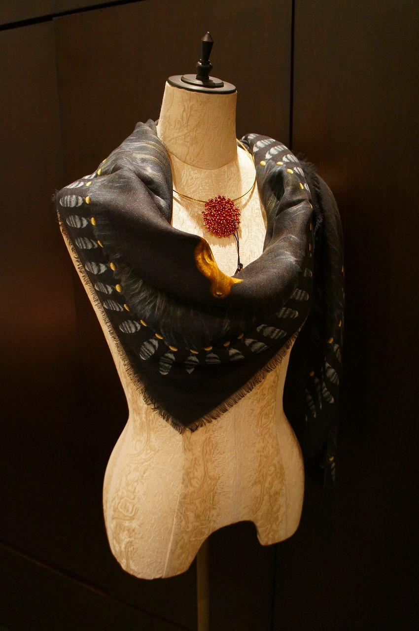 【再入荷】Vassilisa カシミアスカーフ2014A/W Collection_b0115615_14132763.jpg