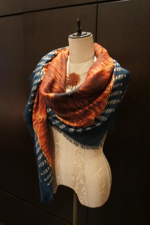 【再入荷】Vassilisa カシミアスカーフ2014A/W Collection_b0115615_1416224.jpg