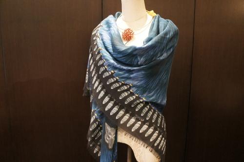 【再入荷】Vassilisa カシミアスカーフ2014A/W Collection_b0115615_14184330.jpg