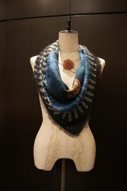 【再入荷】Vassilisa カシミアスカーフ2014A/W Collection_b0115615_14211489.jpg