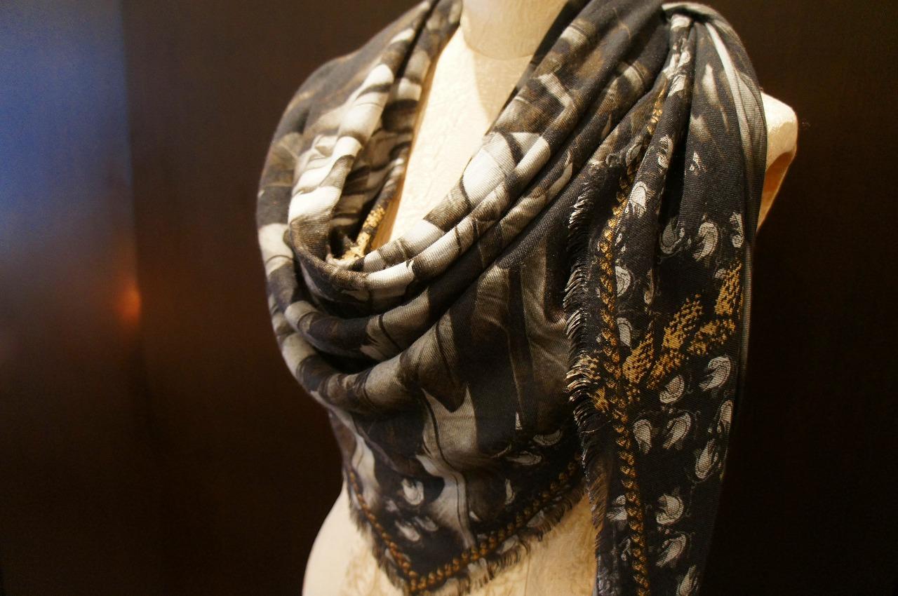 【再入荷】Vassilisa カシミアスカーフ2014A/W Collection_b0115615_14221192.jpg