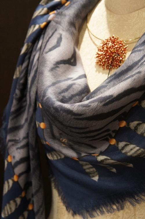【再入荷】Vassilisa カシミアスカーフ2014A/W Collection_b0115615_14241585.jpg