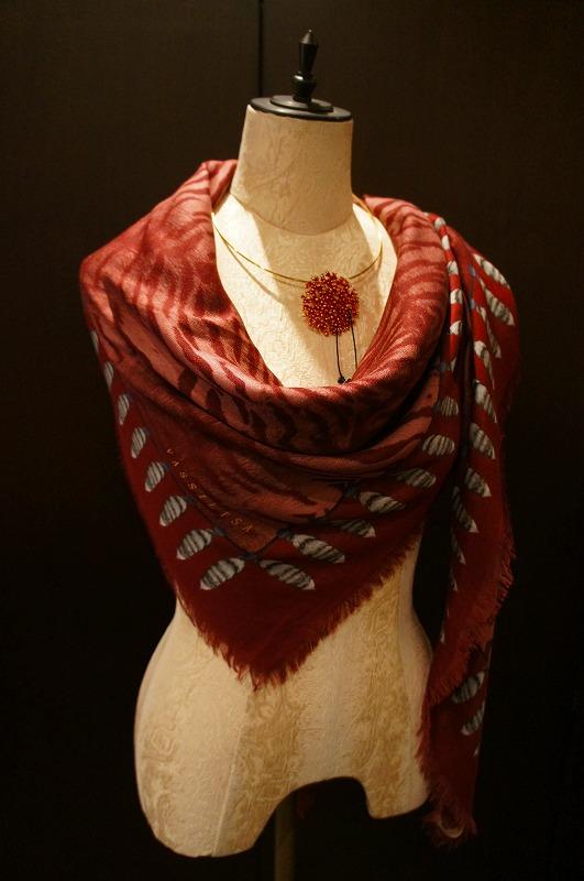【再入荷】Vassilisa カシミアスカーフ2014A/W Collection_b0115615_14305349.jpg