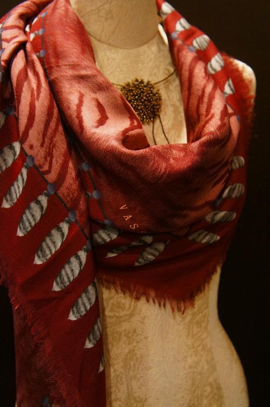 【再入荷】Vassilisa カシミアスカーフ2014A/W Collection_b0115615_14312039.jpg