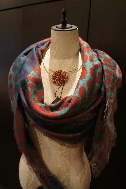 【再入荷】Vassilisa カシミアスカーフ2014A/W Collection_b0115615_14351729.jpg