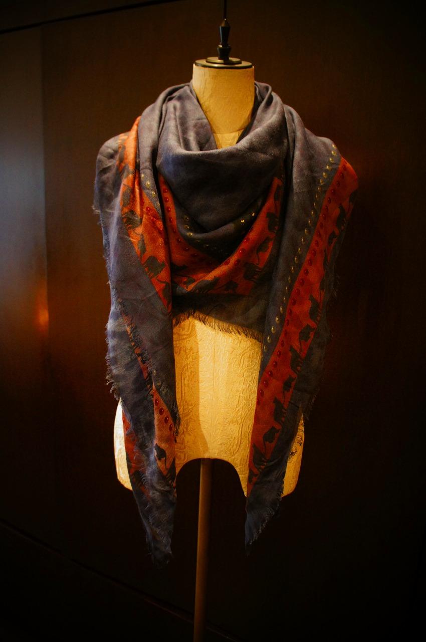 【再入荷】Vassilisa カシミアスカーフ2014A/W Collection_b0115615_1441444.jpg