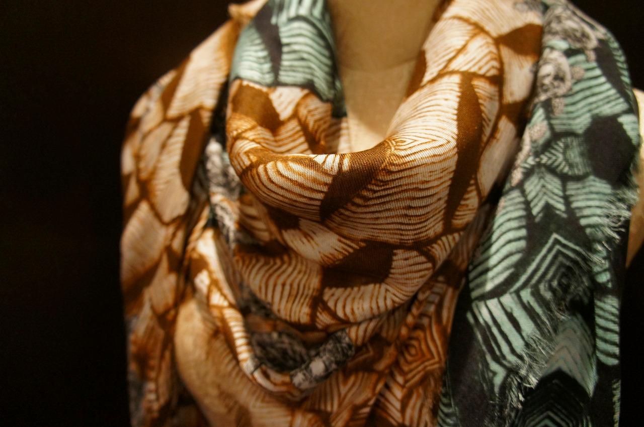 【再入荷】Vassilisa カシミアスカーフ2014A/W Collection_b0115615_14465273.jpg