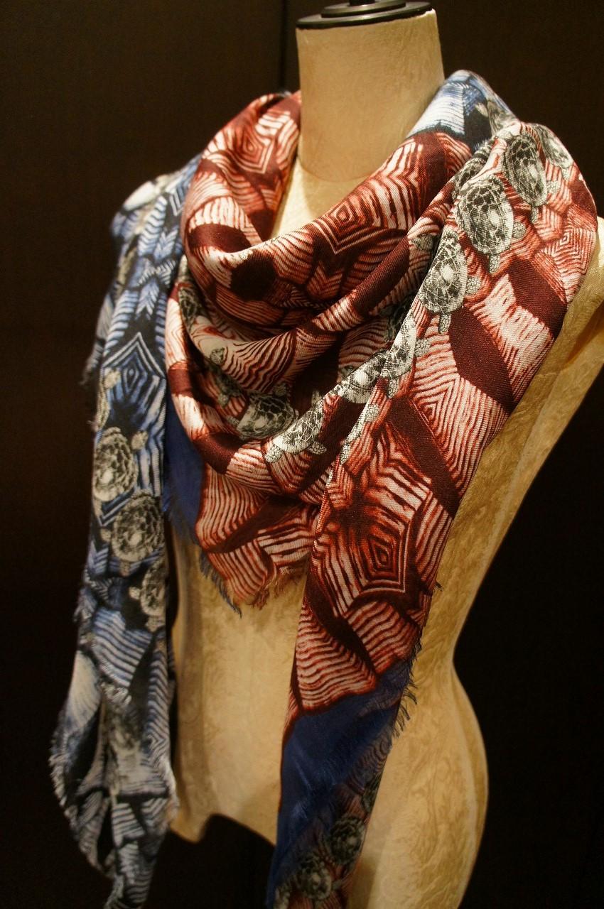 【再入荷】Vassilisa カシミアスカーフ2014A/W Collection_b0115615_14474626.jpg