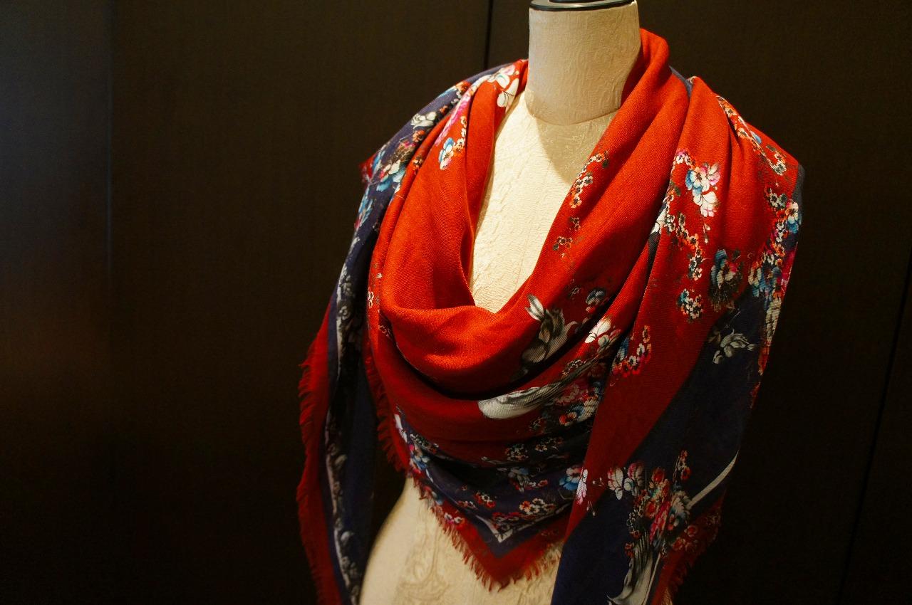 【再入荷】Vassilisa カシミアスカーフ2014A/W Collection_b0115615_14535525.jpg