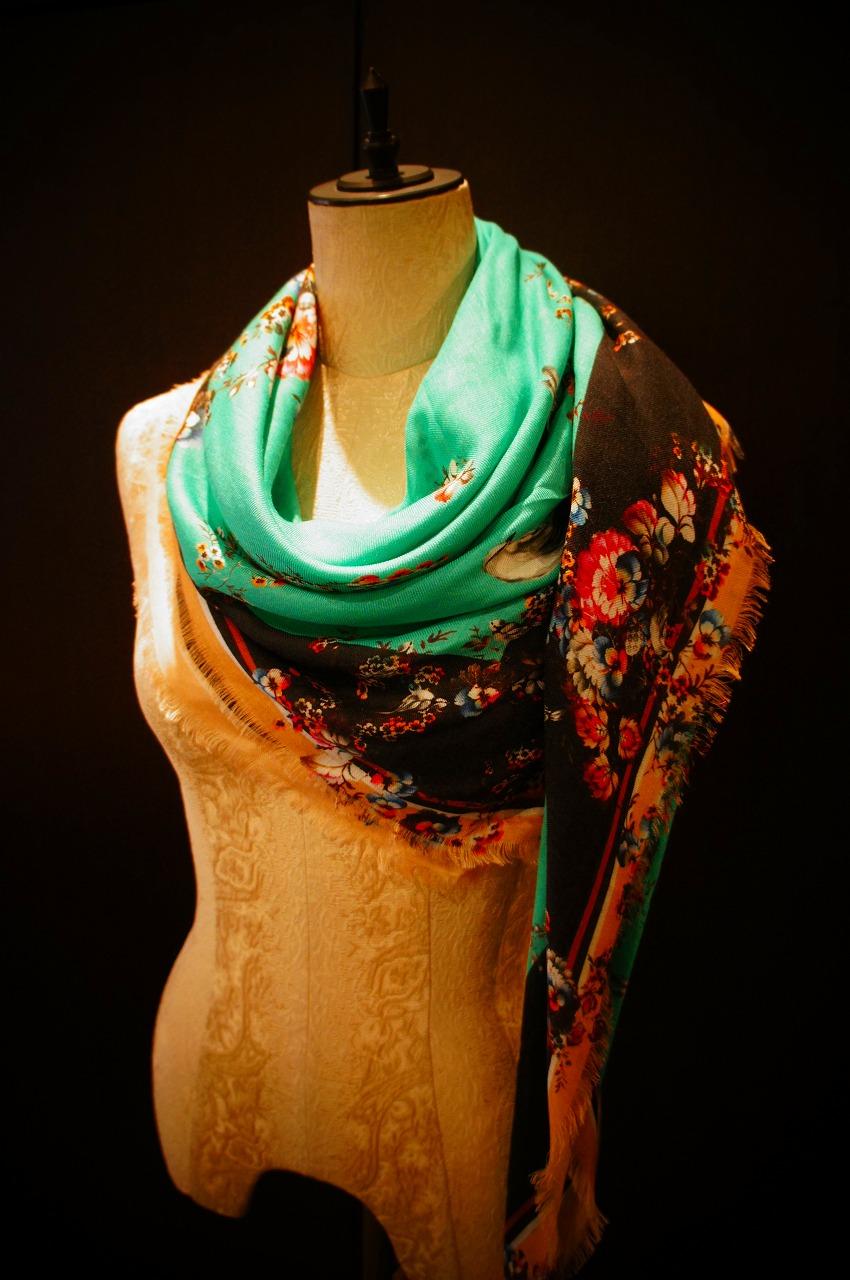 【再入荷】Vassilisa カシミアスカーフ2014A/W Collection_b0115615_14542878.jpg