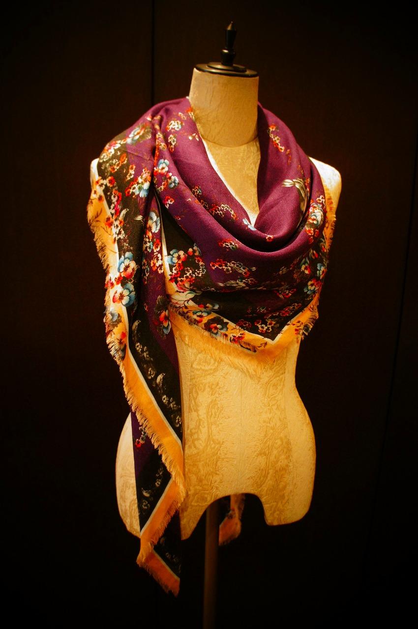 【再入荷】Vassilisa カシミアスカーフ2014A/W Collection_b0115615_1454493.jpg