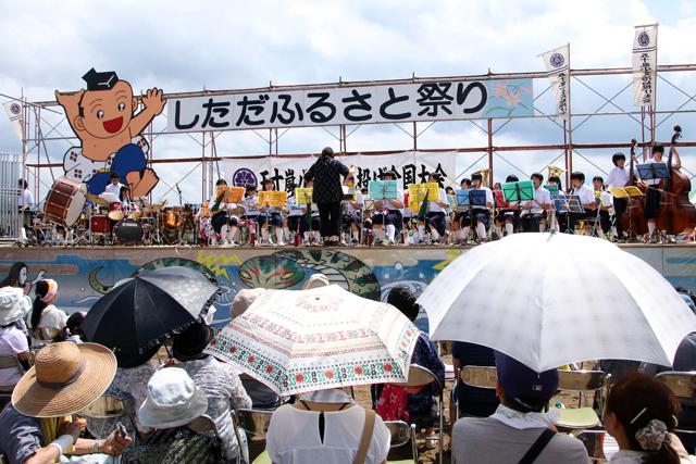 しただふるさと祭り・下田中学校吹奏楽部_a0267861_18262744.jpg