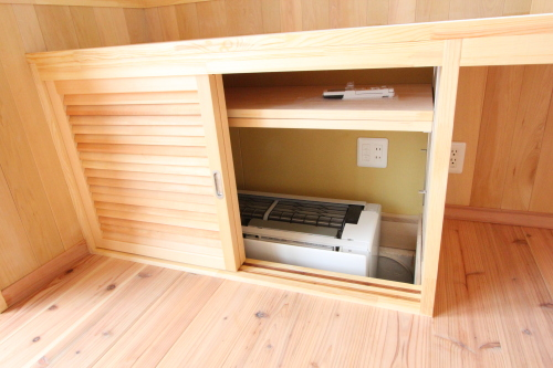 Q1住宅祐天寺完:成写真3 床下エアコン冷暖房簡単システム 1_e0054299_14153257.jpg