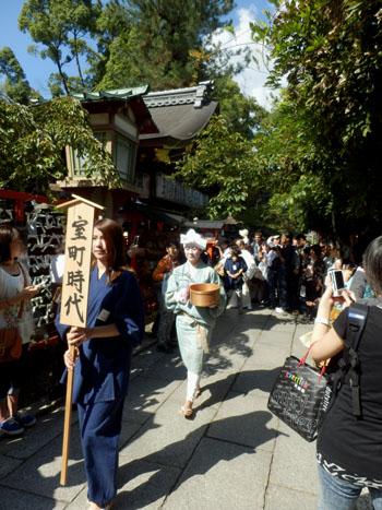 安井金毘羅宮 櫛祭り_e0048413_17255090.jpg