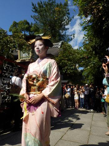安井金毘羅宮 櫛祭り_e0048413_17260509.jpg