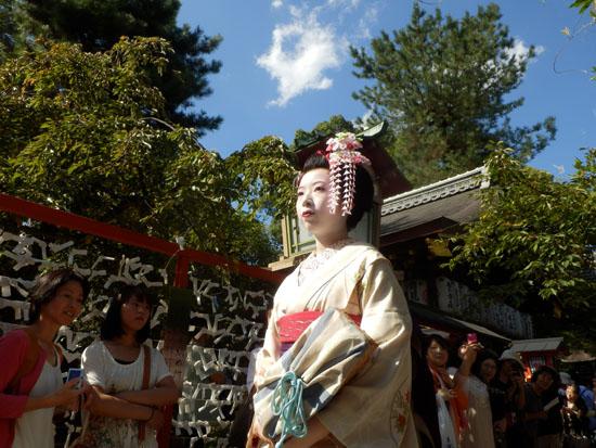 安井金毘羅宮 櫛祭り_e0048413_17261737.jpg