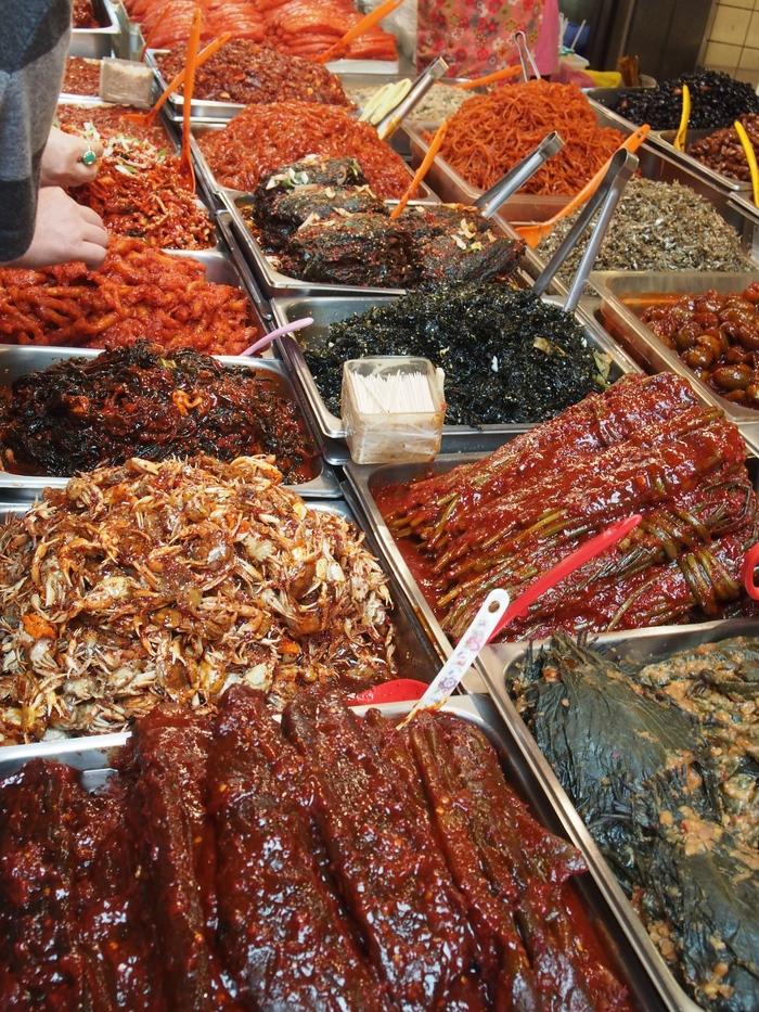 2014 9月 ソウル (9) もりもり野菜のポリパ@広蔵市場 _f0062122_15461658.jpg