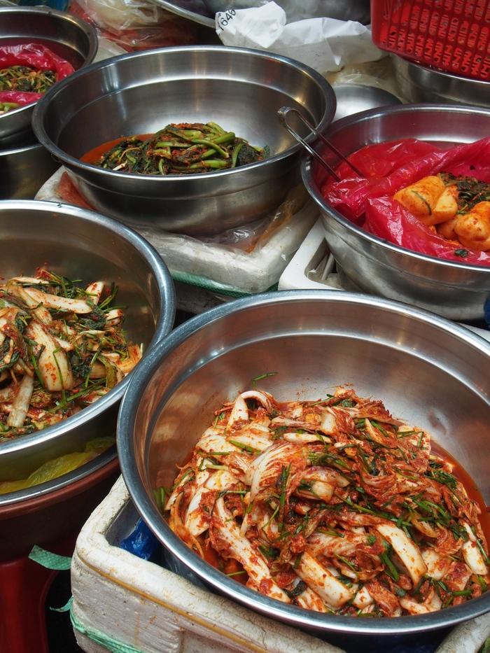 2014 9月 ソウル (9) もりもり野菜のポリパ@広蔵市場 _f0062122_15463854.jpg