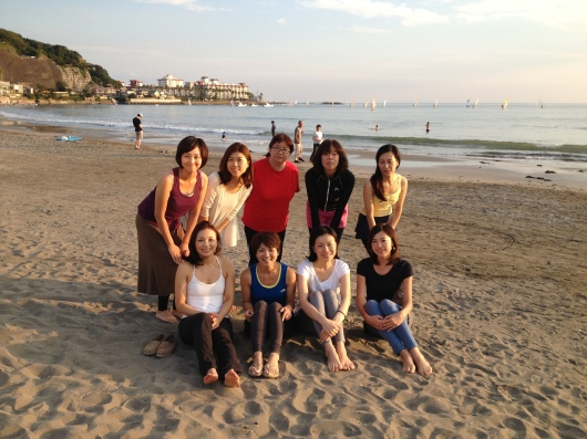 Beach yoga らぶ♥_a0267845_19561153.jpg