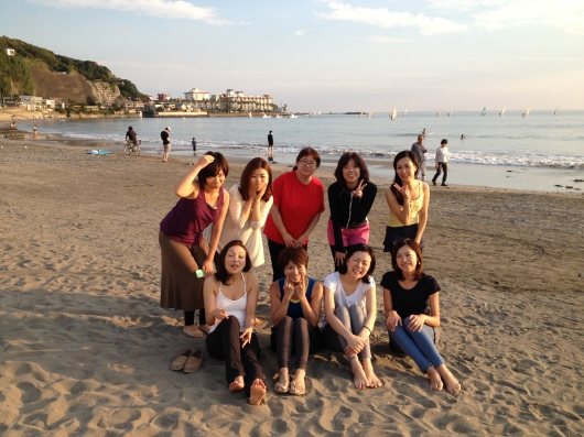Beach yoga らぶ♥_a0267845_19564488.jpg