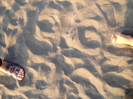 Beach yoga らぶ♥_a0267845_19573452.jpg
