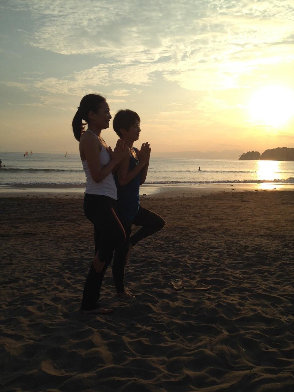 Beach yoga らぶ♥_a0267845_19575557.jpg