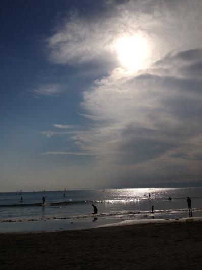 Beach yoga らぶ♥_a0267845_19590751.jpg