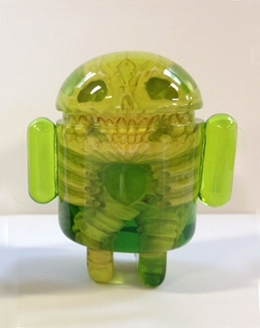 Infected Android - Green by Scott Wilkowski_e0118156_19242814.jpg