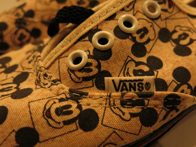 """VANS × MickeyMouse MADE IN USA\""ってこんなこと。_c0140560_11514074.jpg"