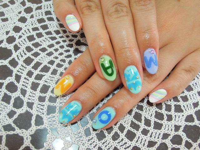 ARASHI Nail_a0239065_13244690.jpg